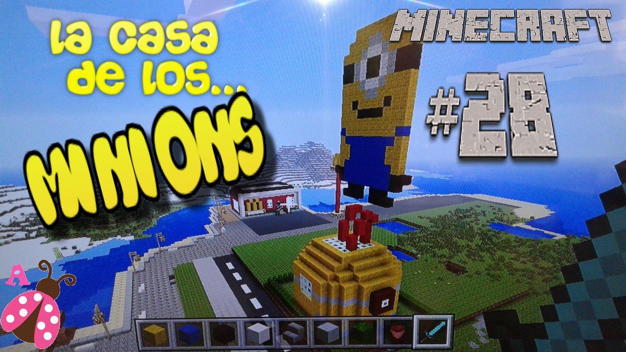 Minecraft Modo Minions Creative House Casa Creativo28 Mode LMVGSzqUp