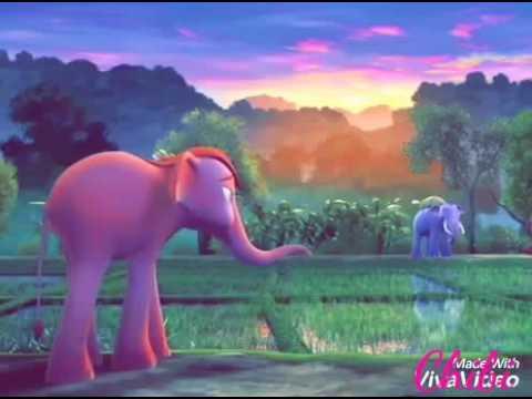 Мультфильм голубой слоненок джамбо