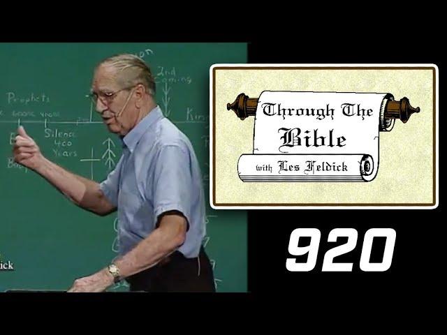 [ 920 ] Les Feldick [ Book 77 - Lesson 2 - Part 4 ] Connecting the Dots of Scripture: Gen-Rev |44/48