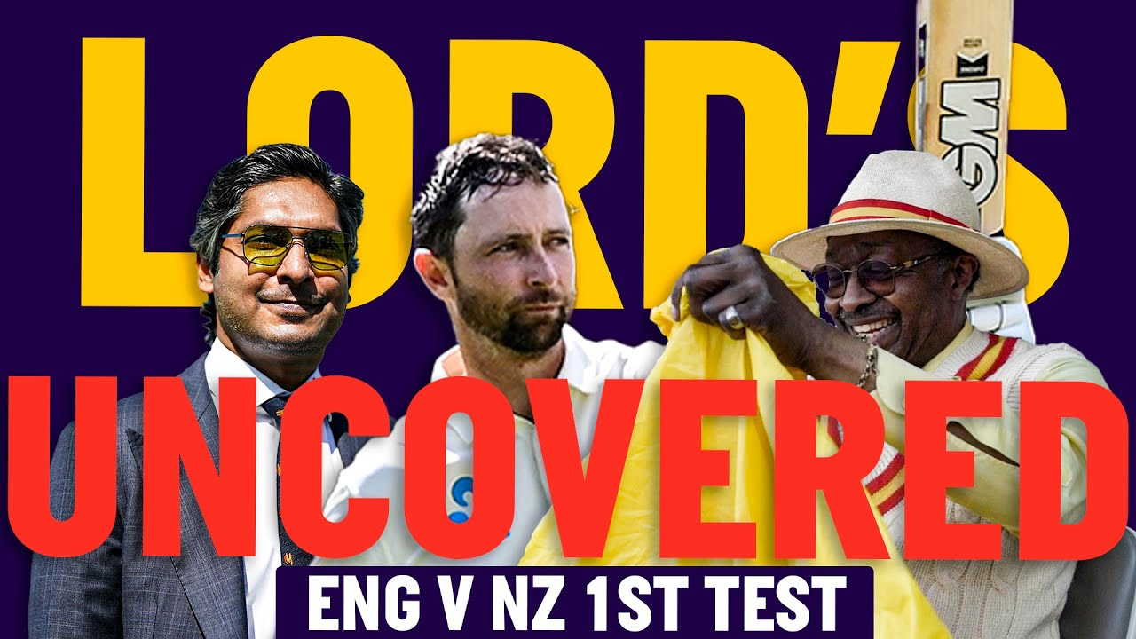 England v New Zealand | Lord's Uncovered