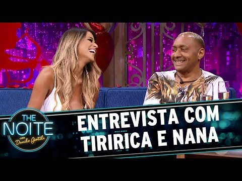 Entrevista com Tiririca e Nana | The Noite (12/06/17)