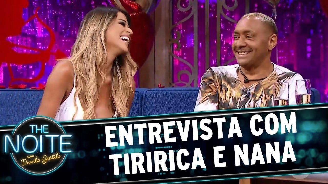 Resultado de imagem para Entrevista com Tiririca e Nana | The Noite (12/06/17)