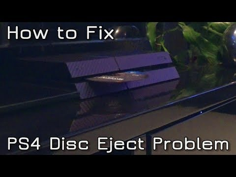 How to fix PS4 Disc Eject Problem