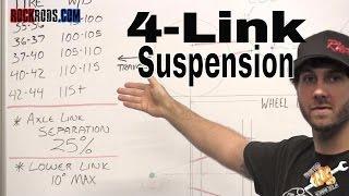 4 Link Suspension Explained - Rock Rods Tech