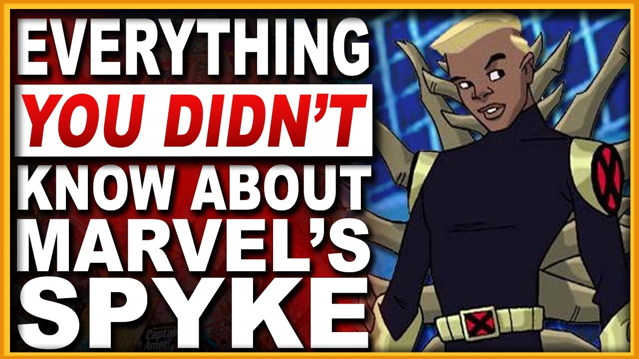Download Who Is Marvel's Spyke? The X-Man That Is Bad To The Bone!
