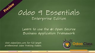 Odoo 9 Essentials - Learn how to use Odoo 9 in your business