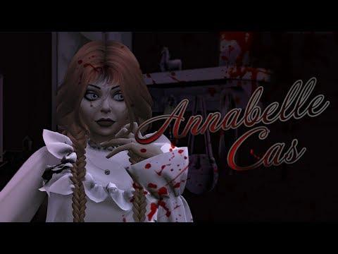 Кукла Аннабель // CAS - Create a Sim // (Создание персонажа) | The Sims 4