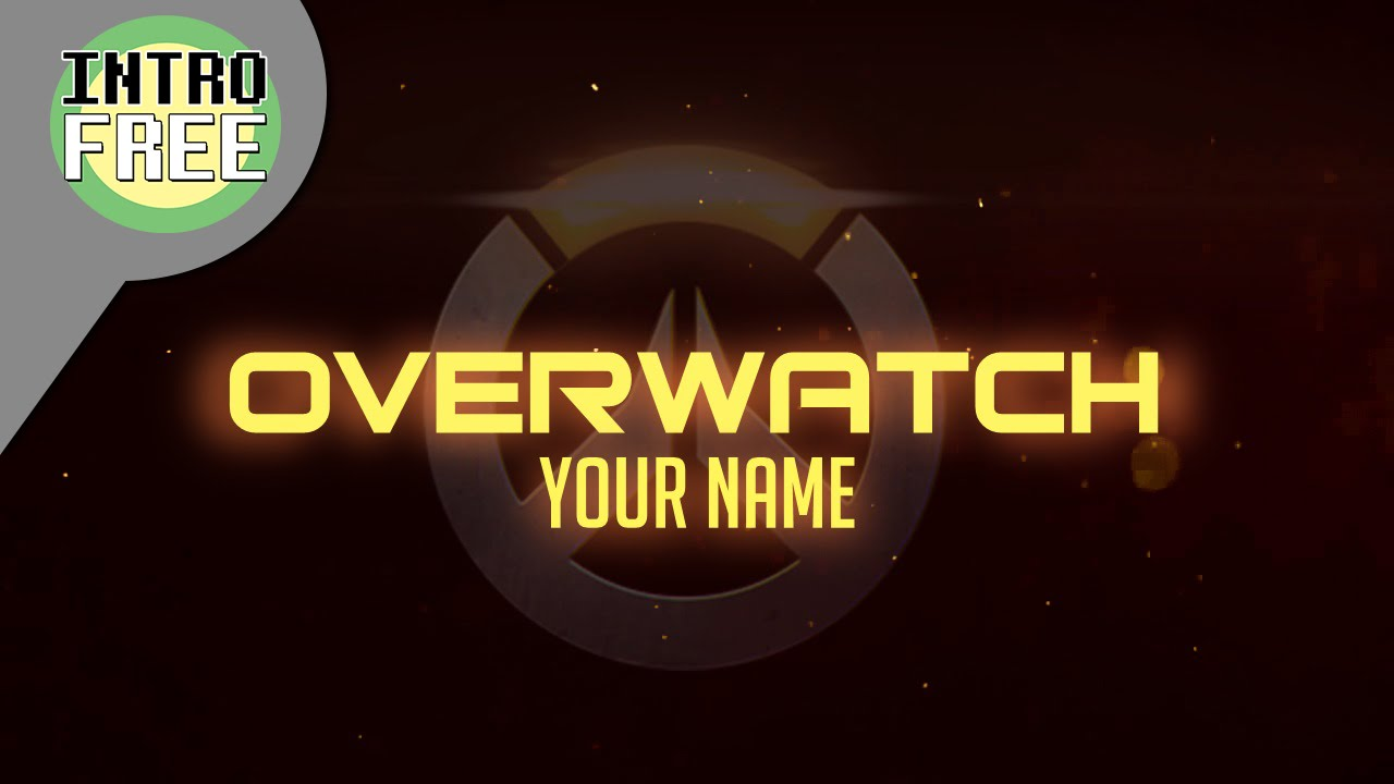 Overwatch Intro Free Templates - Sony Vegas Pro 12 - YouTube