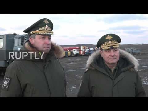 Russia: Deputy defence ministers inspect expansion work at Arctic air base