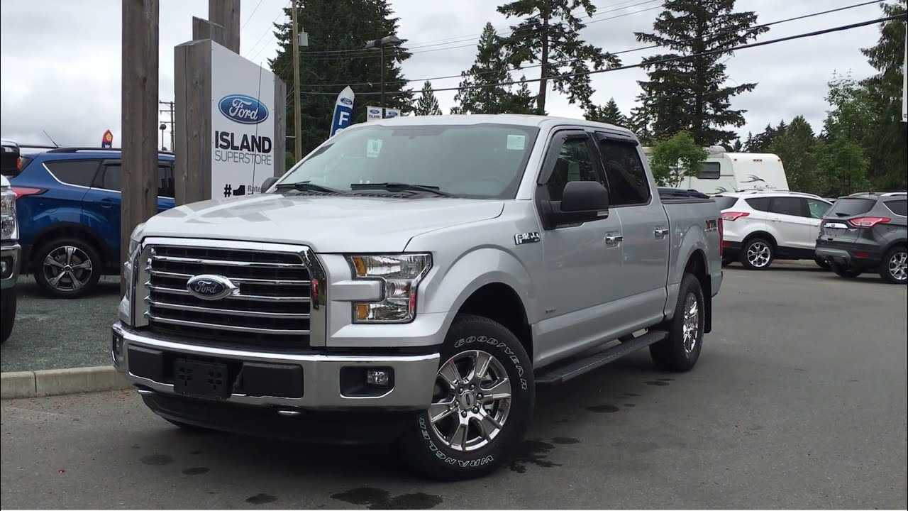 2016 ford f 150 xlt xtr supercrew 4x4 review island ford youtube. Black Bedroom Furniture Sets. Home Design Ideas