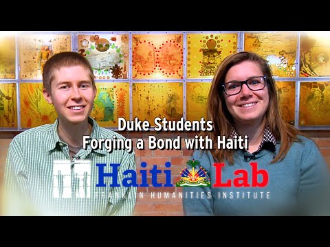 Duke Students Forging a Bond with Haiti