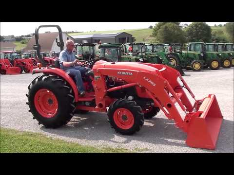 Kubota L4701 Gear Drive Tractor For Sale By Mast Tractor! Low Hours!