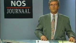 Nederland 2 - Veronica, STER, NOS Journaal, Anita Witzier (2 juni 1990)