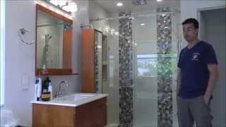 bathroom shower door idea