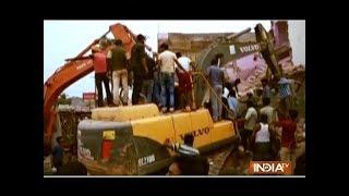 Several houses demolished for construction of 4-lane road in Morena