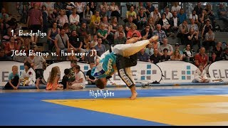 Judo || Bundesliga 2018: JC66 Bottrop vs. Hamburger JT (3:11 [30:110]).