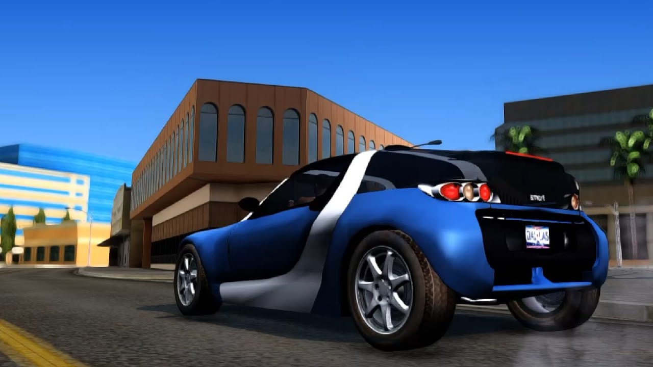 smart roadster coupe gta san andreas enromovies youtube. Black Bedroom Furniture Sets. Home Design Ideas