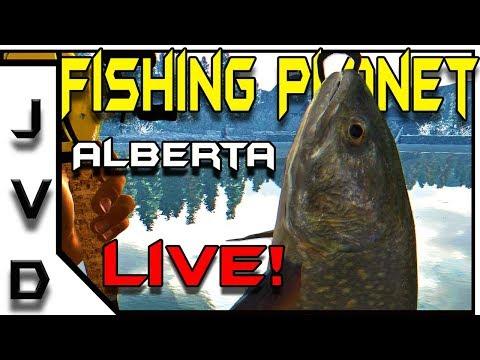 Fishing Planet Live! | Farmin' Fish on White Moose Lake in Alberta, Canada