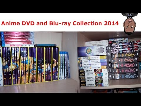 Anime DVD and Blu-ray Collection 2014