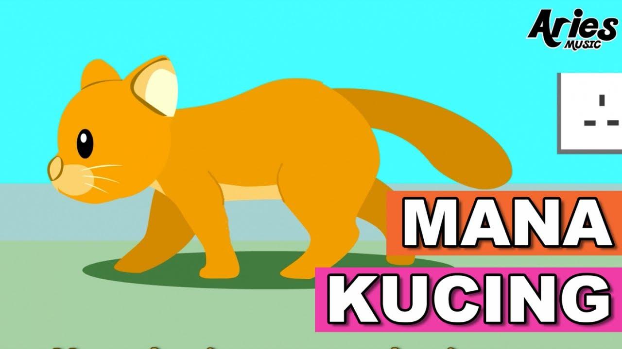 Mana Kucing (Animasi 2D) Lagu Kanak Kanak