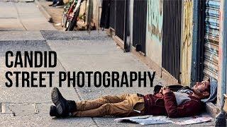 Candid Street Photography Challenge [Fuji X-T3 56mm 1.2]
