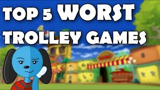 Top 5 WORST Trolley Games (Toontown Rewritten)