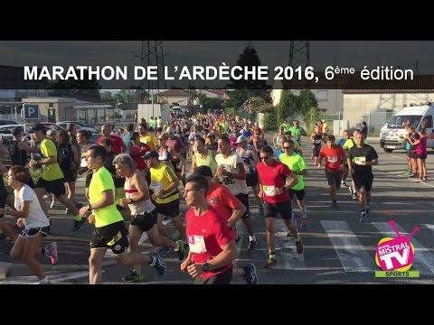 Actu'Sport - Marathon de l'Ardèche 2016