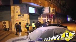 драка полиций на зеленом базаре в алматы