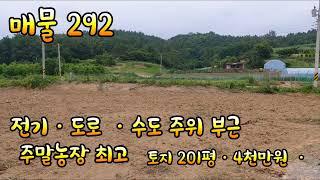 영천부동산ㆍ주말농장ㆍ201평ㆍ4천만원ㆍ후회  없는토지ㆍ