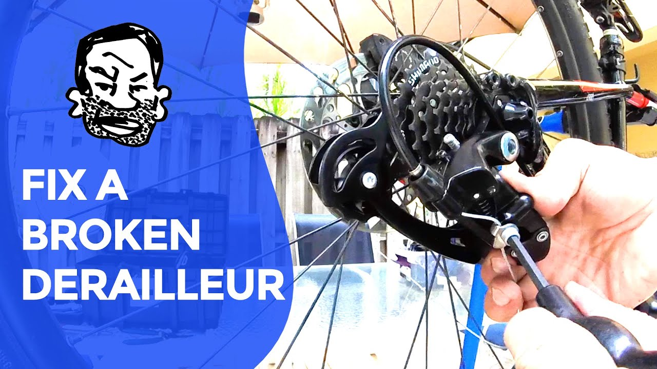 Derailleur Repair For Beginners Youtube Mountain Bike Parts Diagram Picture