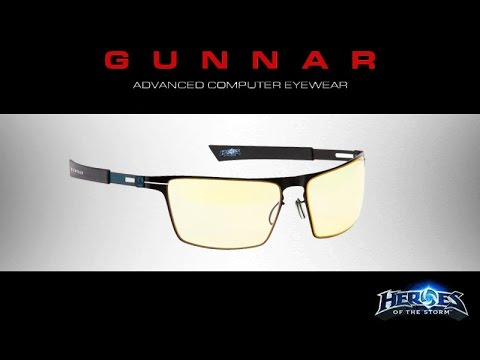 bdccfda8b4b Heroes of the storm gunnar glasses unboxing - YouTube