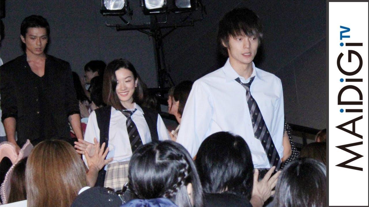 窪田正孝&永野芽郁、ドラマ「僕たちがやりました」キャスト集結に歓声 ドラマ「僕たちがやりました」制作発表会見1