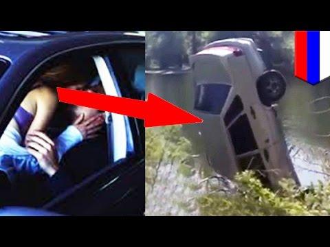 Русская девушка утонула в результате большой страсти в машине