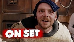 Star Wars: The Force Awakens: Simon Pegg Cameo Behind the Scenes