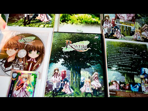 Rewrite Visual Novel Unboxing