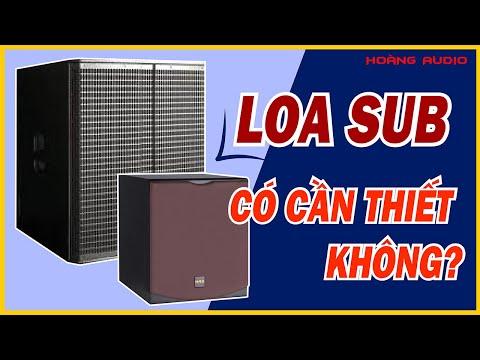 Loa Sub (Cục  Trầm) Có Cần Thiết Cho Bộ Dàn Karaoke Gia đình Hay Không - Tư vấn 090.8686.098