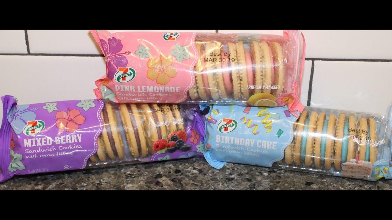 7 Eleven 7 Select Pink Lemonade Mixed Berry Birthday Cake
