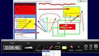 Camtasia Studio 7 - Видеоурок 4 - Рисование при записи видео(Мой канал http://www.youtube.com/user/skukenetru?sub_confirmation=1 Автор: Александр Черкасский., 2011-12-03T15:35:17.000Z)