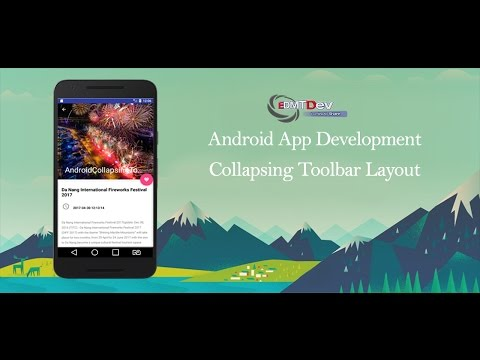 Android Studio Tutorial – Collapsing Toolbar Layout