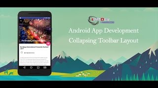 Android Studio Tutorial - Collapsing Toolbar Layout android