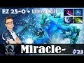 Miracle - Morphling MID | EZ 25-0 + Ultra Kill | Dota 2 Pro MMR Gameplay #23