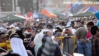Crowd on Hala February 2014 Carnival