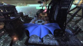 Batman: Arkham City 1970s Batman Meets Bane (Plus some gameplay) [HD]