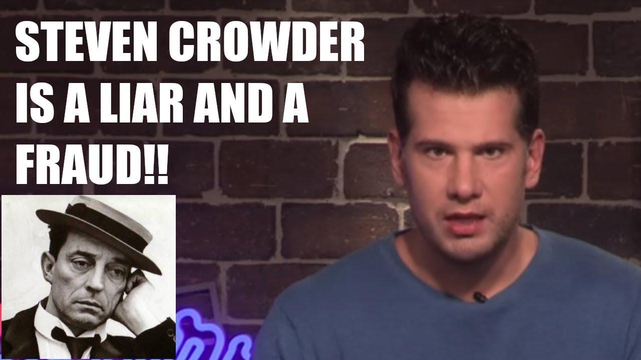 Steven Crowder EXPOSED FOR LYING AGAIN! DELETES VIDEO AFTER POTHOLER54 DEBUNKED HIM!