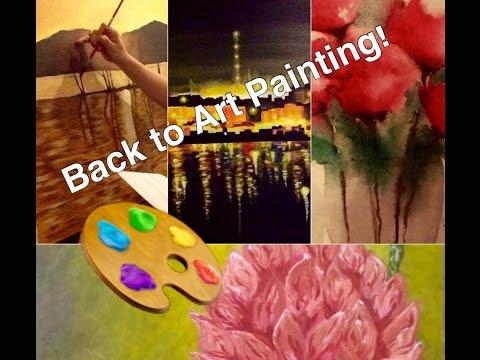 Pinta Tayo   I Am Back Into Art Painting   The Sassy Mommy   Tagalog Vlog
