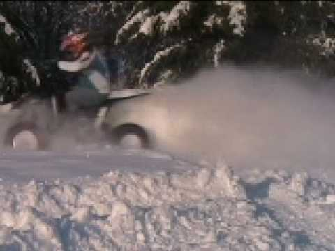 Olympia, Washington Snow Quading & Beverly Sand Dunes