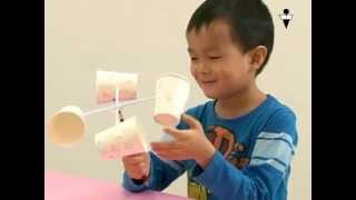 Kiddieworld 風速計轉轉轉 - 實驗影片