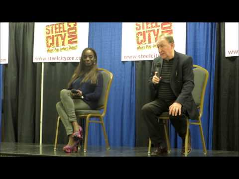 CONVENTION Q&A: FEMI TAYLOR AND DERMOT CROWLEY STEEL CITY CON 2014