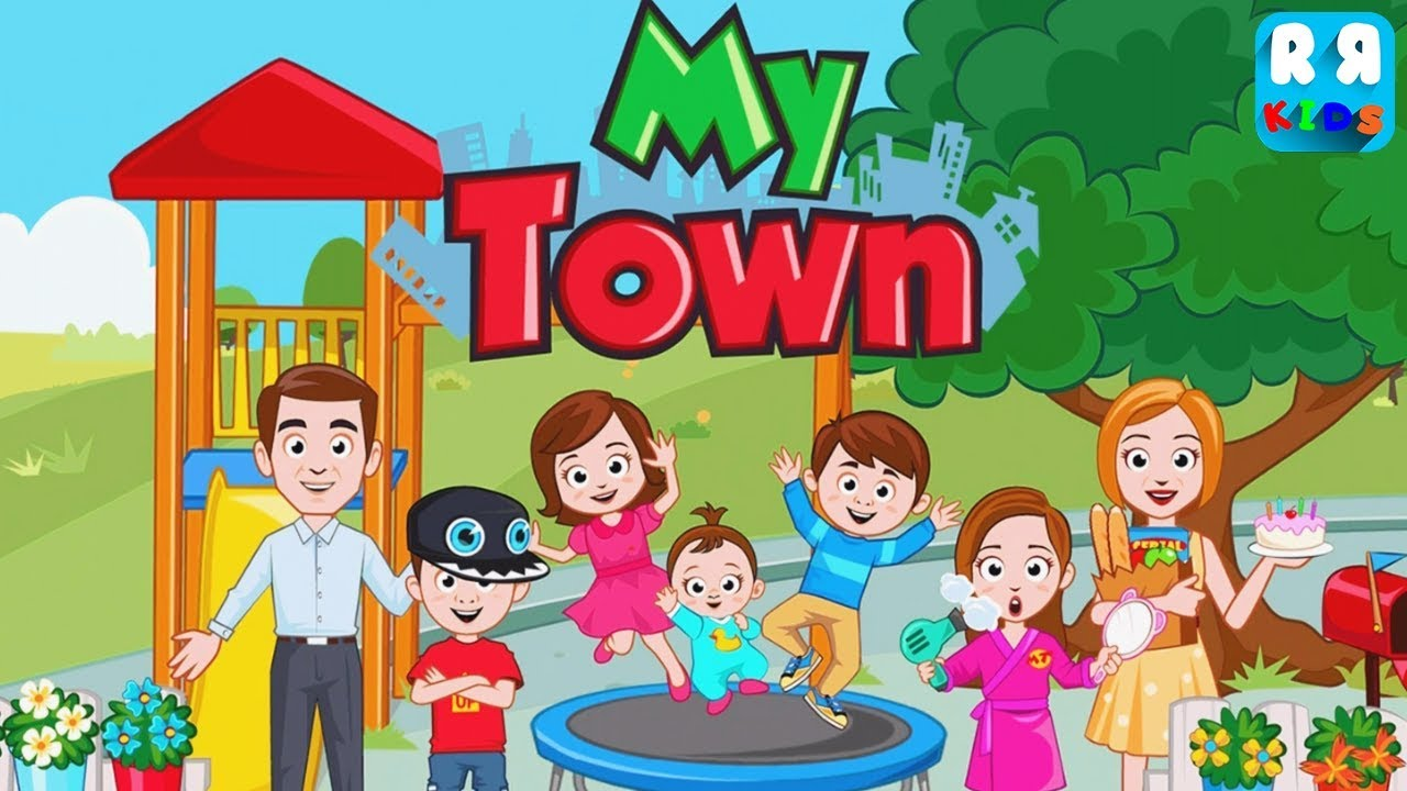 my town home family doll house it s a big update new room and new house youtube my town home family doll house it s a big update new room and new house