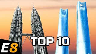 10 Tallest Twin Towers in the World